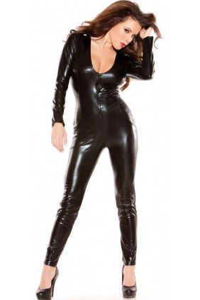 Kitten Wet Look Lycra Catsuit Sensual Elegance Fashion, Lingerie and Shoes Women's Sexy Clothing & Lingerie - Clubwear, Plus Size Clothing & Accessories