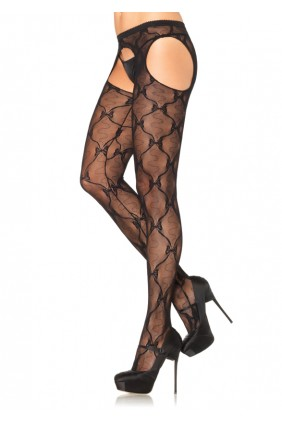 Bow Lace Suspender Panythose - Pack of 3 Sensual Elegance Fashion, Lingerie and Shoes Women's Sexy Clothing & Lingerie - Clubwear, Plus Size Clothing & Accessories