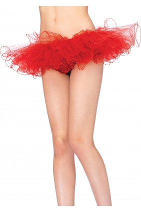 Tulle Swirl Edge Tutu Petticoat Skirt Sensual Elegance Fashion, Lingerie and Shoes Women's Sexy Clothing & Lingerie - Clubwear, Plus Size Clothing & Accessories