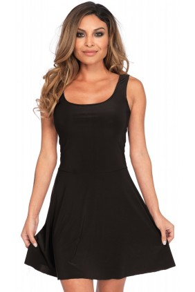 Basic Womens Skater Dress Sensual Elegance Fashion, Lingerie and Shoes Women's Sexy Clothing & Lingerie - Clubwear, Plus Size Clothing & Accessories