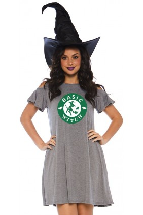 Basic Witch Halloween Party Dress Sensual Elegance Fashion, Lingerie and Shoes Women's Sexy Clothing & Lingerie - Clubwear, Plus Size Clothing & Accessories
