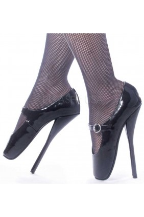 Ballet Extreme Black Mary Jane Shoe Sensual Elegance Fashion, Lingerie and Shoes Women's Sexy Clothing & Lingerie - Clubwear, Plus Size Clothing & Accessories