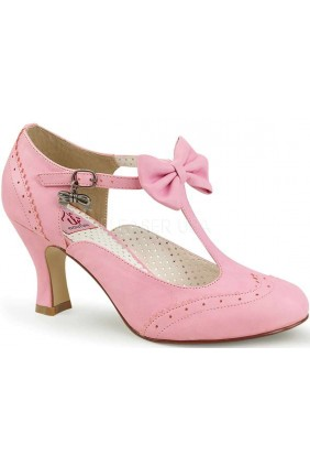 Flapper Pink T-Strap Pump Sensual Elegance Fashion, Lingerie and Shoes Women's Sexy Clothing & Lingerie - Clubwear, Plus Size Clothing & Accessories