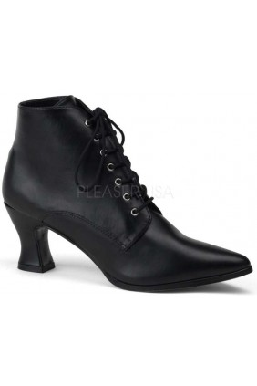 Black Victorian Ankle Bootie Sensual Elegance Fashion, Lingerie and Shoes Women's Sexy Clothing & Lingerie - Clubwear, Plus Size Clothing & Accessories