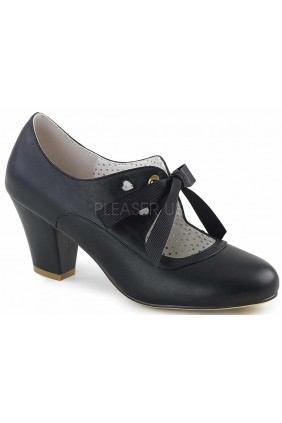 Wiggle Vintage Style Mary Jane Shoe in Black Sensual Elegance Fashion, Lingerie and Shoes Women's Sexy Clothing & Lingerie - Clubwear, Plus Size Clothing & Accessories