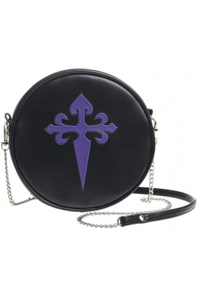 Gothic Cross Round Shoulder Bag Sensual Elegance Fashion, Lingerie and Shoes Women's Very Sexy Lingerie & Clothing - Clubwear, Bridal Lingerie & Plus Size Lingerie