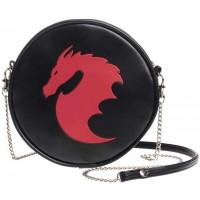 Dragon Round Shoulder Bag