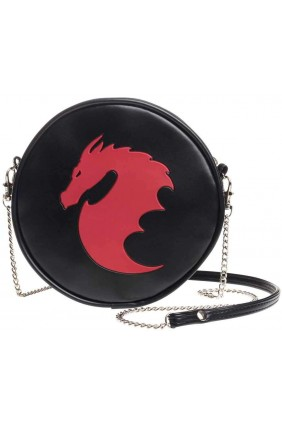 Dragon Round Shoulder Bag Sensual Elegance Fashion, Lingerie and Shoes Women's Sexy Clothing & Lingerie - Clubwear, Plus Size Clothing & Accessories