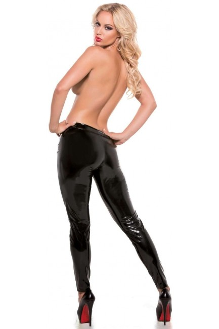 Sexy Second Skin Black Stretch Pants at Sensual Elegance Fashion, Lingerie and Shoes, Women's Sexy Clothing & Lingerie - Clubwear, Plus Size Clothing & Accessories