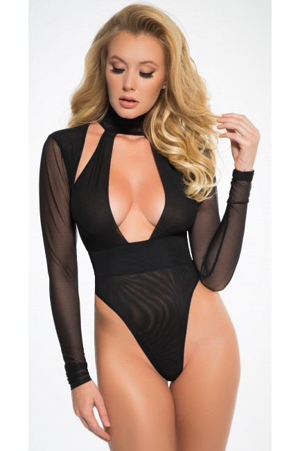 Black Tia Bodysuit