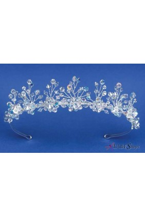 Aurora Swarvoski Crystal Delicate Bridal Tiara Sensual Elegance Fashion, Lingerie and Shoes Women's Sexy Clothing & Lingerie - Clubwear, Plus Size Clothing & Accessories