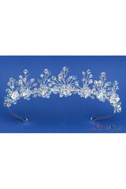 Aurora Swarvoski Crystal Delicate Bridal Tiara at Sensual Elegance Fashion, Lingerie and Shoes, Women's Sexy Clothing & Lingerie - Clubwear, Plus Size Clothing & Accessories