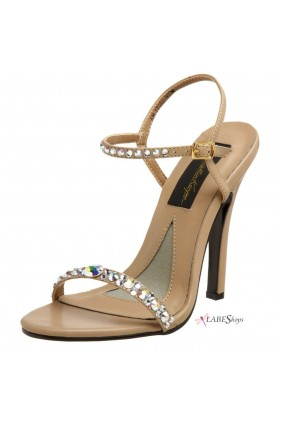 Savannah Crystal Embellished Designer Sandal Sensual Elegance Fashion, Lingerie and Shoes Women's Sexy Clothing & Lingerie - Clubwear, Plus Size Clothing & Accessories