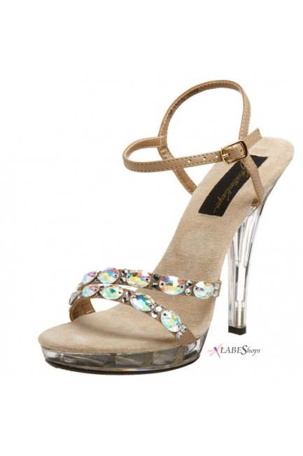 Austria Crystal Embellished Designer Sandal at Sensual Elegance Fashion, Lingerie and Shoes, Women's Sexy Clothing & Lingerie - Clubwear, Plus Size Clothing & Accessories