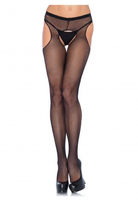 Fishnet Suspender Crotchless Pantyhose  - Pack of 3 Sensual Elegance Fashion, Lingerie and Shoes Women's Sexy Clothing & Lingerie - Clubwear, Plus Size Clothing & Accessories