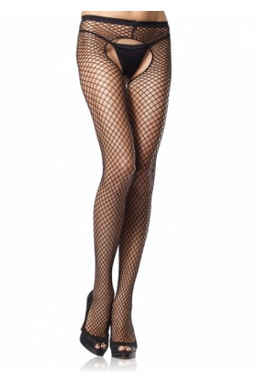 Industrial Net Crotchless Pantyhose  - Pack of 3 Sensual Elegance Fashion, Lingerie and Shoes Women's Very Sexy Lingerie & Clothing - Clubwear, Bridal Lingerie & Plus Size Lingerie