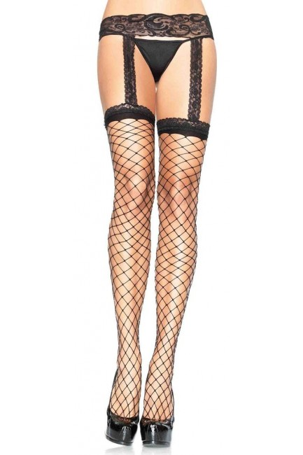 Fence Net Suspender Stockings  - Pack of 3 at Sensual Elegance Fashion, Lingerie and Shoes, Women's Sexy Clothing & Lingerie - Clubwear, Plus Size Clothing & Accessories