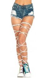 Silver Leg Wraps