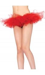 Tulle Swirl Edge Tutu Petticoat Skirt