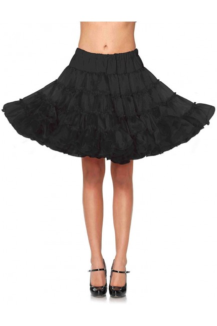 Knee Length Deluxe Crinoline Petticoat at Sensual Elegance Fashion, Lingerie and Shoes, Women's Sexy Clothing & Lingerie - Clubwear, Plus Size Clothing & Accessories