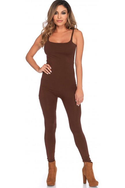 Basic Womens Unitard in Brown at Sensual Elegance Fashion, Lingerie and Shoes, Women's Sexy Clothing & Lingerie - Clubwear, Plus Size Clothing & Accessories