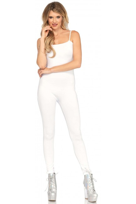 Basic Womens Unitard in White at Sensual Elegance Fashion, Lingerie and Shoes, Women's Sexy Clothing & Lingerie - Clubwear, Plus Size Clothing & Accessories