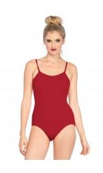 Basic Red Womens Bodysuit