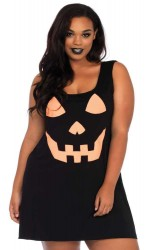 Pumpkin Plus Size Jersey Dress