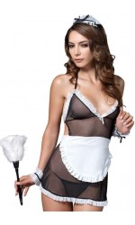 0d2fb6128 Seductive French Maid Adult Womens Costume