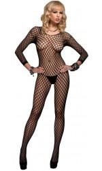 Ringo Net Long Sleeved Bodystocking