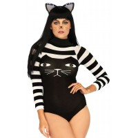 Striped Cat Bodysuit