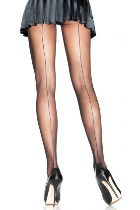 Backseam Sheer Pantyhose Sensual Elegance Fashion, Lingerie and Shoes Women's Very Sexy Lingerie & Clothing - Clubwear, Bridal Lingerie & Plus Size Lingerie