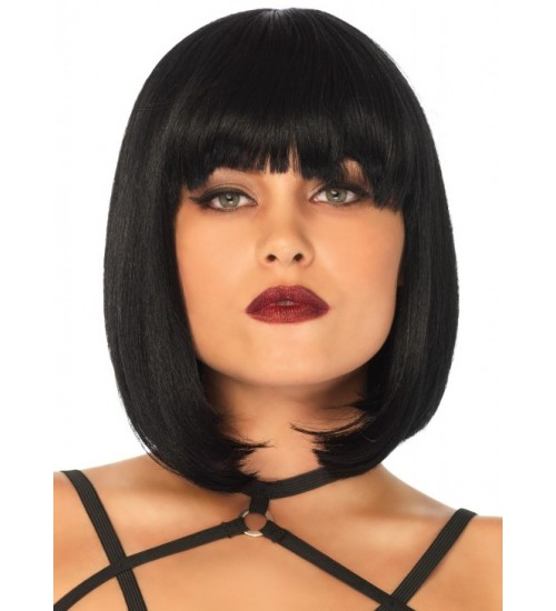 Short Natural Bob Wig at Sensual Elegance, Sexy Womens Lingerie & Clothing for All Sizes - Clubwear, Bridal & Plus Size Lingerie