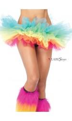 Rainbow Organza Tutu Petticoat