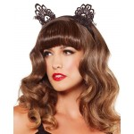 Black Lace Cat Ears