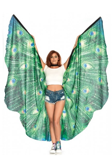 Peacock Festival Wings at Sensual Elegance Fashion, Lingerie and Shoes, Women's Sexy Clothing & Lingerie - Clubwear, Plus Size Clothing & Accessories