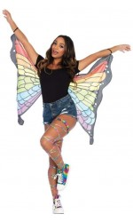 Rainbow Mini Butterfly Festival Wings