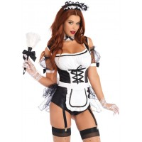 Merry Maid Sexy Womens Halloween Costume