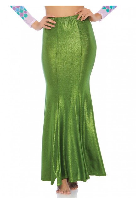 Green Shimmer Spandex Mermaid Skirt at Sensual Elegance Fashion, Lingerie and Shoes, Women's Sexy Clothing & Lingerie - Clubwear, Plus Size Clothing & Accessories