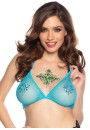 Ocean Teal Blue Body Jewel at Sensual Elegance Fashion, Lingerie and Shoes, Women's Sexy Clothing & Lingerie - Clubwear, Plus Size Clothing & Accessories