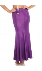 Purple Shimmer Spandex Mermaid Skirt