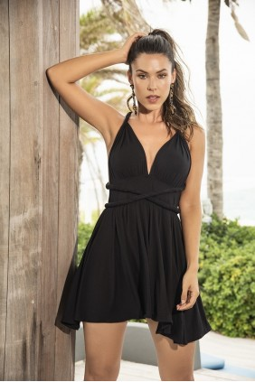 Little Black Summer Dress Sensual Elegance Fashion, Lingerie and Shoes Women's Sexy Clothing & Lingerie - Clubwear, Plus Size Clothing & Accessories
