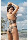 Leopard Print One Shoulder Bikini at Sensual Elegance Fashion, Lingerie and Shoes, Women's Sexy Clothing & Lingerie - Clubwear, Plus Size Clothing & Accessories
