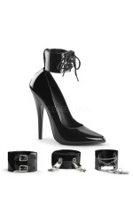 Ankle Cuff Domina 6 Inch High Heel Pump
