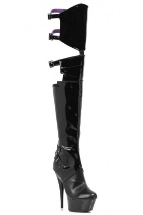 Felicia 6 Inch Heel Thigh High Platform Boot Sensual Elegance Fashion, Lingerie and Shoes Women's Sexy Clothing & Lingerie - Clubwear, Plus Size Clothing & Accessories
