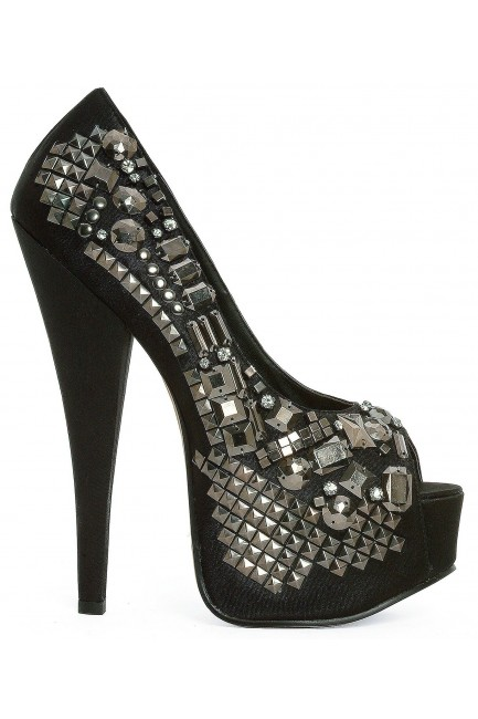 Bailey Rock Star Studded Pumps at Sensual Elegance Fashion, Lingerie and Shoes, Women's Sexy Clothing & Lingerie - Clubwear, Plus Size Clothing & Accessories