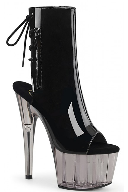 Smoke Platform Adore Black Patent Ankle Boot at Sensual Elegance Fashion, Lingerie and Shoes, Women's Sexy Clothing & Lingerie - Clubwear, Plus Size Clothing & Accessories