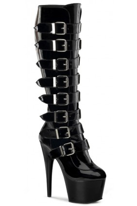 Buckled Adore Knee High Platform Boot Sensual Elegance Fashion, Lingerie and Shoes Women's Sexy Clothing & Lingerie - Clubwear, Plus Size Clothing & Accessories