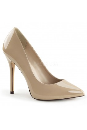 Amuse Cream 5 Inch High Heel Pump Sensual Elegance Fashion, Lingerie and Shoes Women's Sexy Clothing & Lingerie - Clubwear, Plus Size Clothing & Accessories