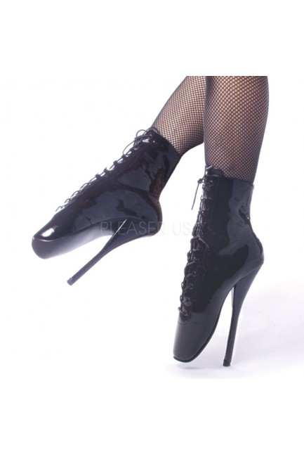 Ballet Lace Up Extreme Granny Boots at Sensual Elegance Fashion, Lingerie and Shoes, Women's Sexy Clothing & Lingerie - Clubwear, Plus Size Clothing & Accessories